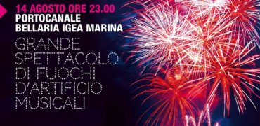 14 agosto: FUOCHI D'ARTIFICIO